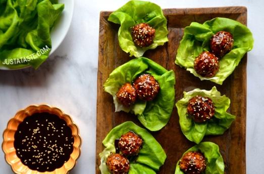 baked-chicken-meatball-lettuce-wraps-recipe